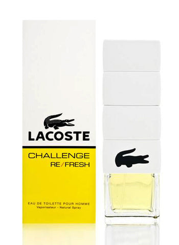 Buy original Lacoste Challenge Refresh EDT For Men 75ml only at Perfume24x7.com