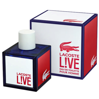 Buy original Lacoste Live Pour Homme EDT For Men 100ml only at Perfume24x7.com