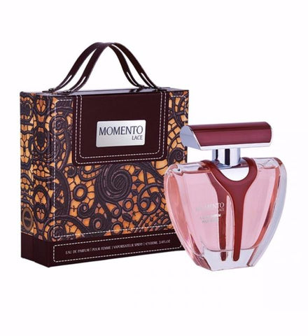 Buy original Momento Lace EDP 100ml By Armaf LUXE only at Perfume24x7.com