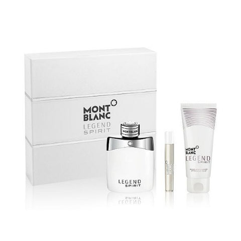 Mont Blanc Legend Spirit EDT Gift Set For Men 100ml