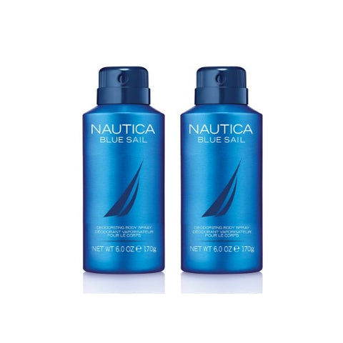 Buy original Nautica Blue Sail Deodorant for Men 150ml only at Perfume24x7.com