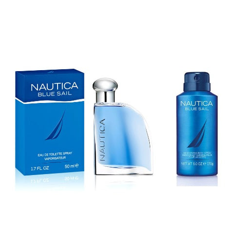 Nautica Blue Sail Men Edt 50ml + Deodorant 150ml