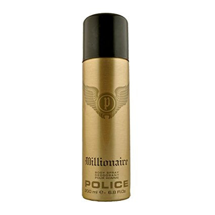 Buy original Police Millionaire Deodorant For Men 200ml only at Perfume24x7.com