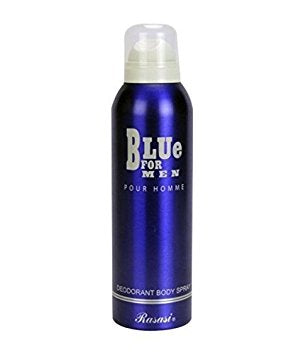 Buy original Rasasi Blue Deodorant For Men 200ml only at Perfume24x7.com