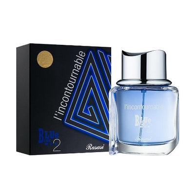 Buy original Rasasi L'Incontournable Blue For Men 2 Edt only at Perfume24x7.com  Edit alt text
