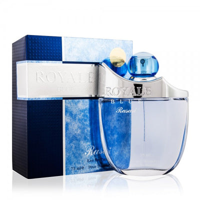 Buy original Rasasi Royale Blue EDP For Men 75ml only at Perfume24x7.com