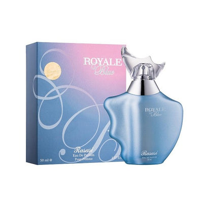 Buy original Rasasi Royale Blue EDP For Women 75ml only at Perfume24x7.com
