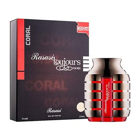 Buy original Rasasi Toujours Coral EDP For Men 75ml only at Perfume24x7.com