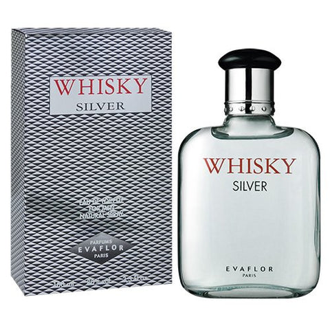 Silver Whisky By Evaflor EDT For Men 100ml