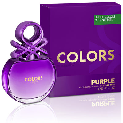Buy original United Colors of Benetton Colors Purple EDT For Her 80ml only at Perfume24x7.com