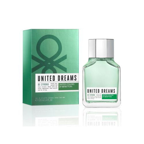 UCB United Dreams Be Strong EDT For Men 100ml - Perfume24x7.com