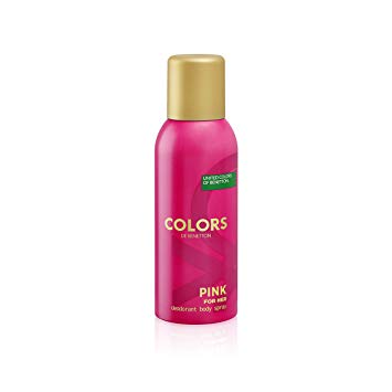 Buy original UCB United Dreams Colors Pink Deodorant For Women 150ml only at Perfume24x7.com