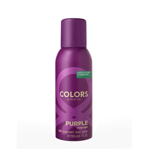 Buy original UCB United Dreams Colors Purple Deodorant For Women 150ml only at Perfume24x7.com