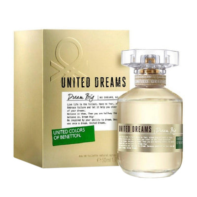 Buy original United Colors of Benetton United Dream Big EDT For Women 80ml only at Perfume24x7.com