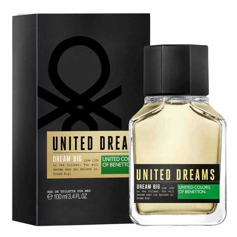 Buy original United Colors of Benetton United Dream Big EDT For Men 100ml only at Perfume24x7.com