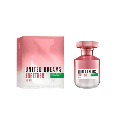 Buy original United Colors of Benetton United Dreams Together EDT For Women 80ml only at Perfume24x7.com