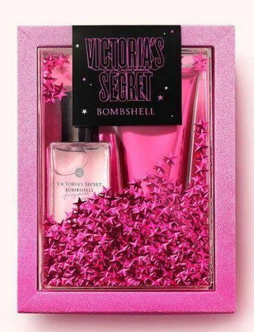 Victoria's Secret Bombshell Fragrance Mist + Body Lotion Set