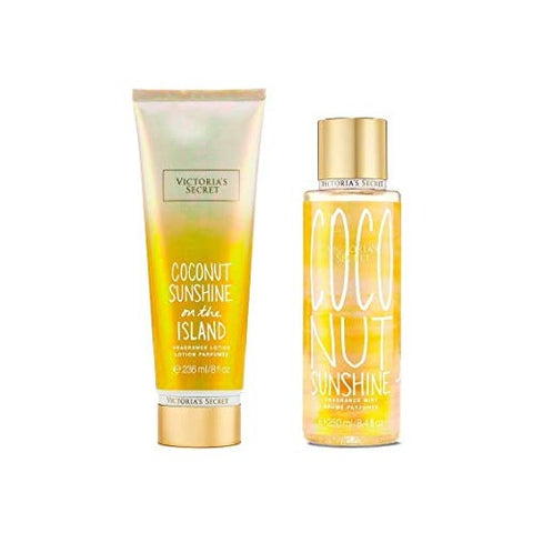 Buy original Victoria's Secret Coconut Sunshine on the Island Mist & Lotion Fragrance Mist only at Perfume24x7.com