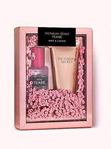 Victoria's Secret Tease Fragrance Mist + Body Lotion Gift Set - Perfume24x7.com
