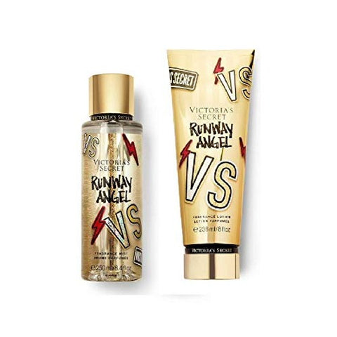 Buy original Victoria's Secret Runway Angel Fragrance Mist & Lotion Combo only at Perfume24x7.com
