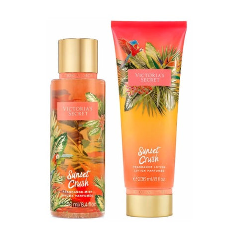 Victoria's Secret Sunset Crush Fragrance Mist & Lotion Combo
