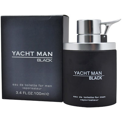 Buy original Yacht Black EDT For Men 100ml only at Perfume24x7.com