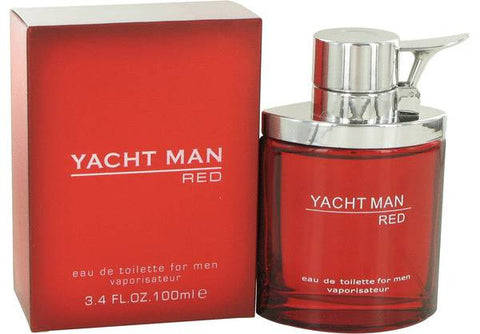 Yacht Red EDT For Men 100ml