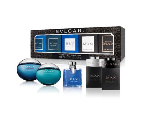 Buy original Bvlgari 5pc Mini Travel Collection 5ml each only at Perfume24x7.com