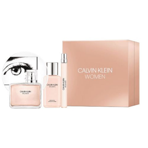 Buy original Calvin Klein women 100ml eau de parfum 3pc gift set only at Perfume24x7.com