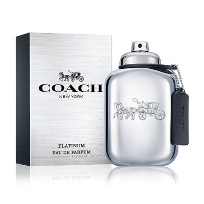 Buy original Coach Platinum New York For Men EDP 100ml only at Perfume24x7.com
