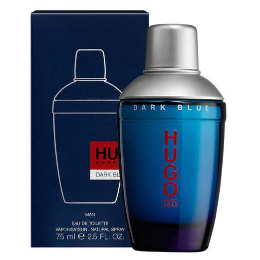 Hugo Dark Blue For Men 75ml Edt - Perfume24x7.com