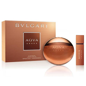 Buy original Bvlgari Aqua Amara Edt 100ml 2pc Gift Set only at Perfume24x7.com