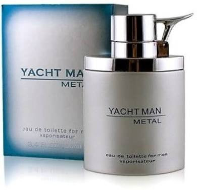 Buy original Yacht Metal EDT For Men 100ml only at Perfume24x7.com