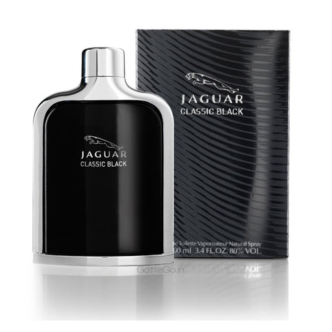 Buy original Jaguar Classic Black EDT For Men 100ml only at Perfume24x7.com