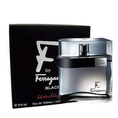 Buy original Salvatore Ferragamo F Black Edt Men 100ml only at Perfume24x7.com