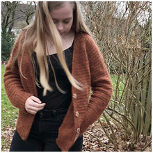 My first cardigan