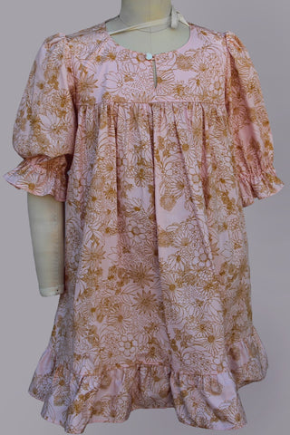 Princess Orchid French Country Pink Dress