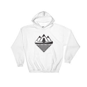 Canoe Bear Hoodie - Beyond The Treeline Clothing - Hiking, Mountains, Camping, Outdoors, Shirts, Hoodie