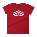 Torngat Ladies Red Logo - Beyond The Treeline Clothing - Hiking, Mountains, Camping, Outdoors, Shirts, Hoodie