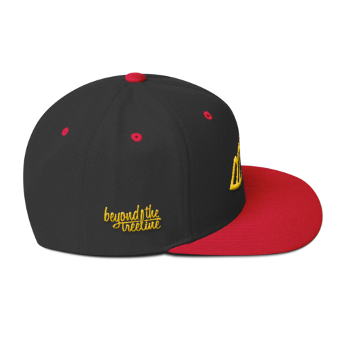 Calgary Snapback - Beyond The Treeline Clothing - Hiking, Mountains, Camping, Outdoors, Shirts, Hoodie