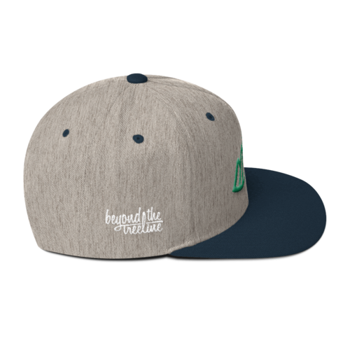 Vancouver Snapback - Beyond The Treeline Clothing - Hiking, Mountains, Camping, Outdoors, Shirts, Hoodie