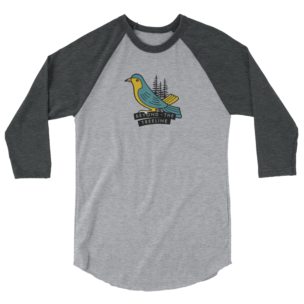 Drongo 3/4 - Beyond The Treeline Clothing - Hiking, Mountains, Camping, Outdoors, Shirts, Hoodie