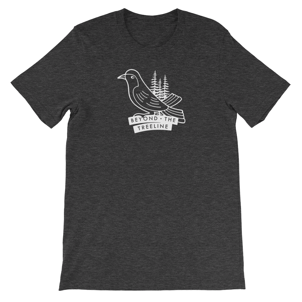 Drongo Tee - Beyond The Treeline Clothing - Hiking, Mountains, Camping, Outdoors, Shirts, Hoodie