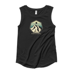 Mountain Crest B Ladies Sleeveless - Beyond The Treeline Clothing - Hiking, Mountains, Camping, Outdoors, Shirts, Hoodie