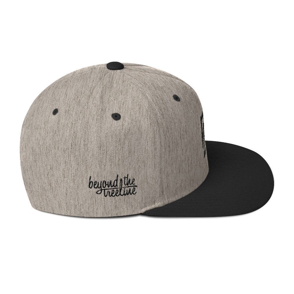 Logan Snapback - Beyond The Treeline Clothing - Hiking, Mountains, Camping, Outdoors, Shirts, Hoodie