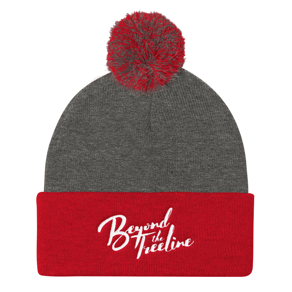 Cursive Toque - Beyond The Treeline Clothing - Hiking, Mountains, Camping, Outdoors, Shirts, Hoodie
