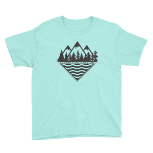 Kids Treeline Tee - Beyond The Treeline Clothing - Hiking, Mountains, Camping, Outdoors, Shirts, Hoodie