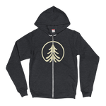 Bugaboo Zip-Up Hoodie - Beyond The Treeline Clothing - Hiking, Mountains, Camping, Outdoors, Shirts, Hoodie