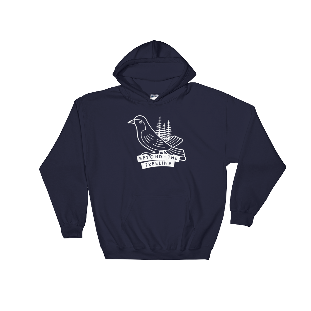 Drongo Hoodie - Beyond The Treeline Clothing - Hiking, Mountains, Camping, Outdoors, Shirts, Hoodie