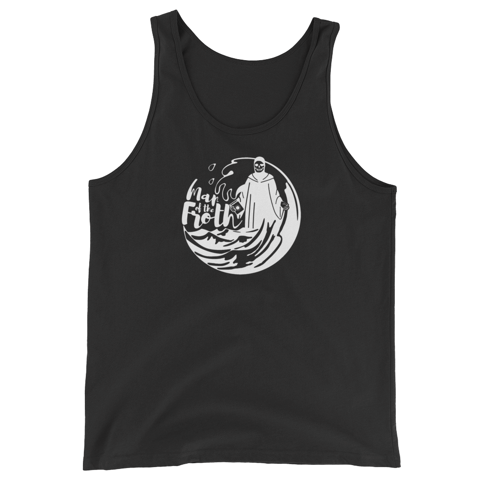 Froth Tank - Beyond The Treeline Clothing - Hiking, Mountains, Camping, Outdoors, Shirts, Hoodie